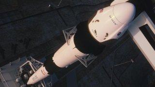 Cohete espacial Falcon 9