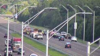 Accidente I-95 en el condado Brevard