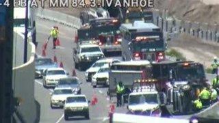 Accidente I-4 Oeste