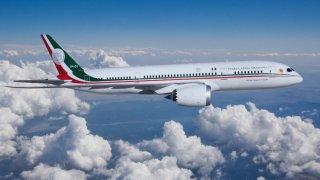 Avión presidencial que el gobierno mexicano puso en venta.