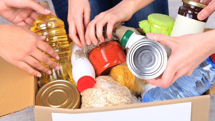 Donación de comida
