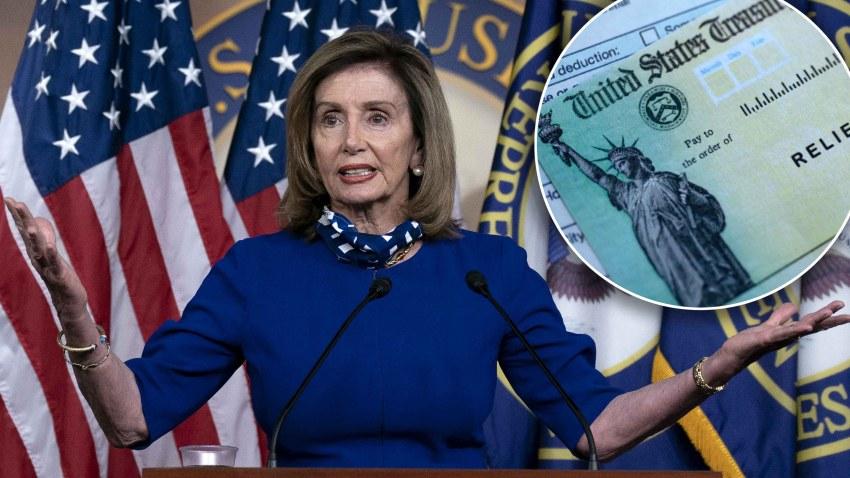cheques por coronavirus Nancy Pelosi