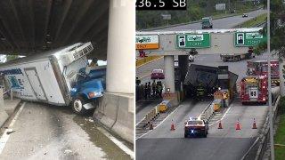 Accidente en autopista Turnpike