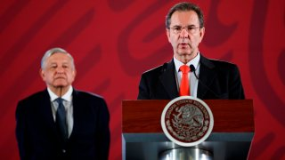AMLO y Esteban Moctezuma, próximo embajador de México en EEUU
