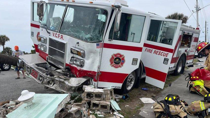 Camión de bomberos del condado Volusia