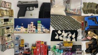 Colaboración entre la comunidad y la policía lleva a arrestos y decomisos de armas y drogas en Orlando