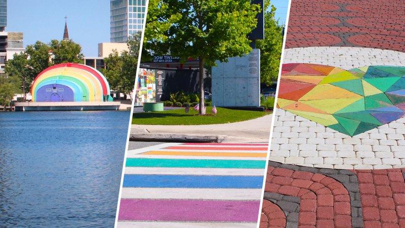 Orlando se pinta de colores