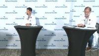 Hospitales AdventHealth reportan gran aumento de hospitalizaciones por COVID-19