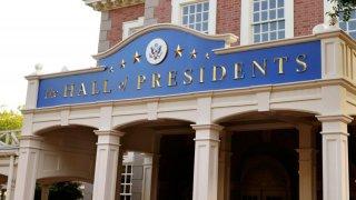 Salón de los Presidentes de Disney.