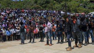 Autodefensas indígenas en Chiapas