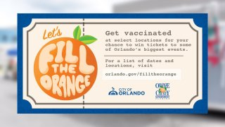 Ciudad de Orlando ofrece boletos para eventos como incentivo para vacunarse