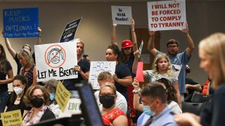 Florida School Board mask mandate