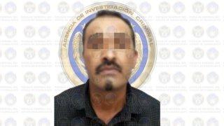 Fotografía desenfoca de líder criminal capturado en Guanajuato